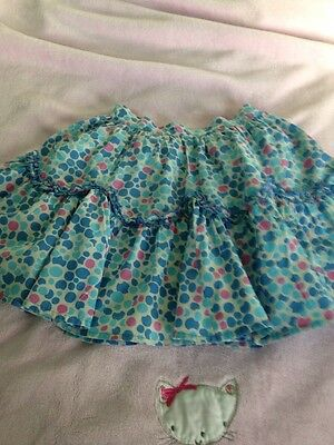 Pretty Girls Print Lined Skirt Age 6 Years