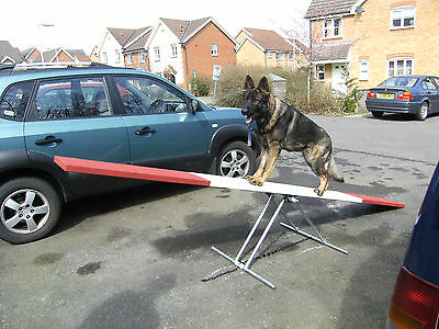 Dog agility / training  obedience equipment See-Saw