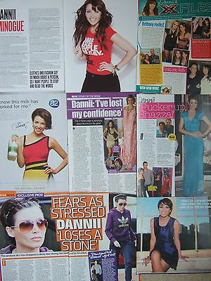 DANNII MINOGUE UK Magazine Clippings Pack 2 *Kylie X Factor