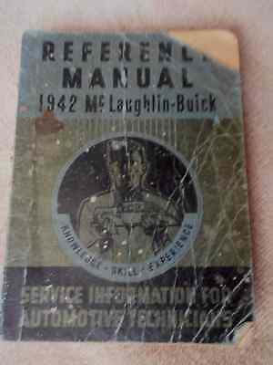 1942 McLaughlin-Buick Reference Manual