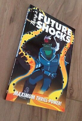 2000ad: Tharg's Future Shocks, Subscribers gift A5 Size Book. Fabry, Weston