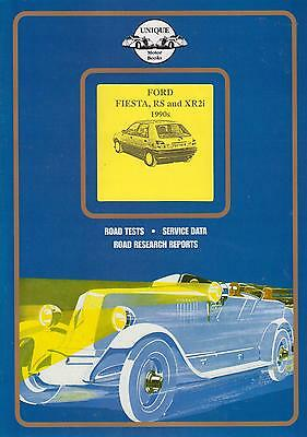 FORD FIESTA MK3 XR2i RS1800 & RS TURBO ( 1990-1995 ) PERIOD ROAD TESTS BOOK