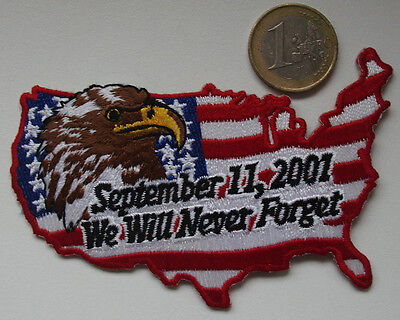 FDNY - Patch -We will never vorget - September,11-2001