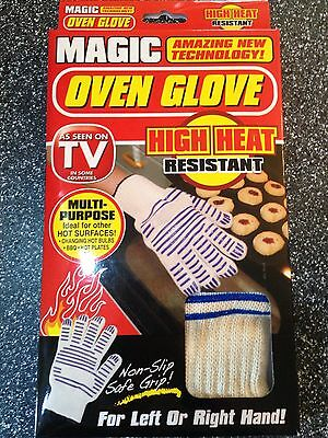 Magic Oven Glove Bbq Kitchen Flame Resistant