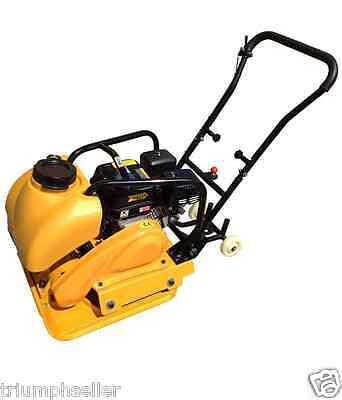 6.5Hp Gas Vibration Plate Compactor Walk Behind Tamper W / Water Tank