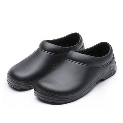 Men Chef Shoes Kitchen Nonslip Shoes Safety shoes Cook Culinary School Shoes @#