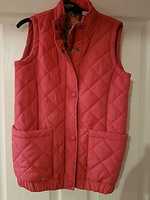 Girls body warmer age 12 by joules