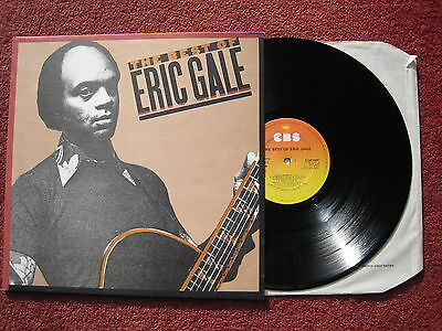 The Best of Eric Gale. 1980 Jazz/Fusion compilation LP. NM/EX
