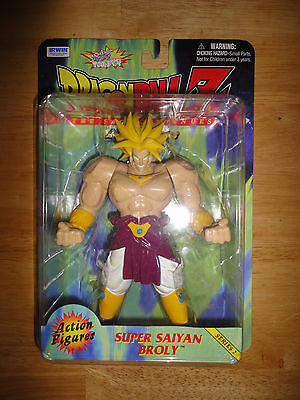 1999 DRAGONBALL Z Irwin Toys SUPER SAIYAN BROLY Series 2 Figure *NEW*