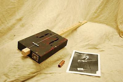Cigar Box Guitar One String Diddley Bow Electro Acoustic christmas gift hip xmas
