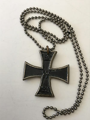 1914 Imperial Germany German Wwi Iron Cross Medal W Fw 1813