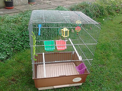 Bird cage, suitable for budgie or canary