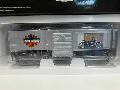New MTH Premier 20-90228 A Harley-Davidson Softail Deluxe Box Car