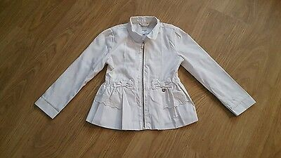 girls Mayoral lightweight jacket age 8 years white