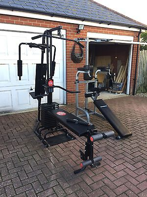 Multi Gym Abs Station Weight Bench