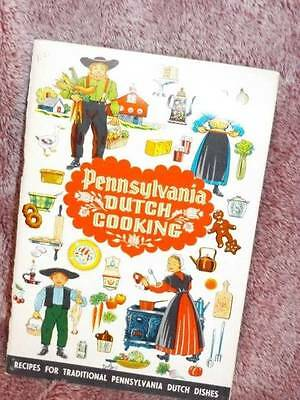1978 Pennsylvania Dutch Cooking Paperback BOOK Vintage