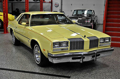 1977 Oldsmobile Cutlass  1977 OLDSMOBILE CUTLASS SUPREME 10,000 ACTUAL MILES 403 BIG BLOCK MUSEUM QUALITY