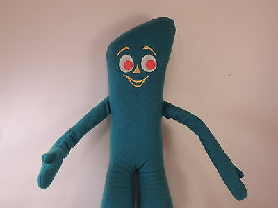 Gumby Pals Vintage 1983 Art Clokey Poseable Plush Doll vintage wired doll