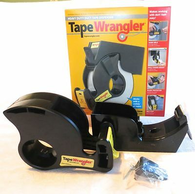 Tape Wrangler Heavy Duty Duct Strapping Tape Dispenser 700S Hand Held Wall Mount