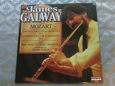 James Galway - Mozart Concerto For Flute & Orchestra No1 & 2 - Andre Prieur