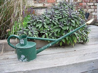 Vintage Haws  Long Reach Watering Can with Copper Rose (903)