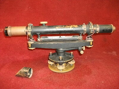 Antique Surveying Transit with Wooden Case