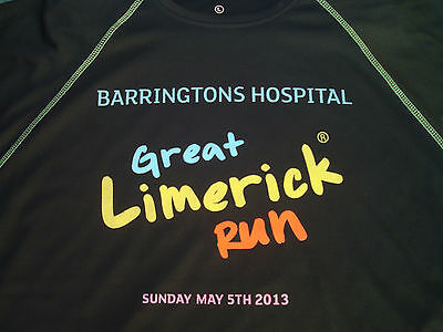 2013 Great Limerick Run Shirt / Athletic Running Training Top
