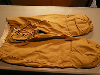 Vintage 40's -50's Size 30 Adult Canvas Football Pants