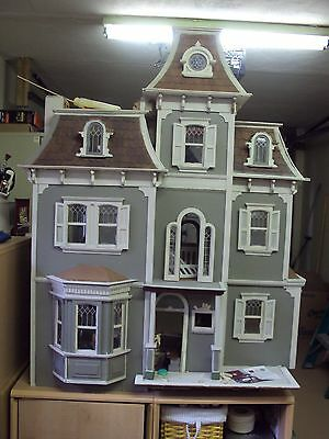 Victorian Wooden dolls house Beacon Hill by Greenleaf