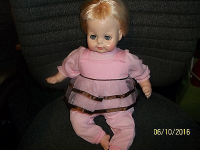 "Vintage Vogue Baby Doll - 1964. 17"".3+.Preowned. Good Cond."