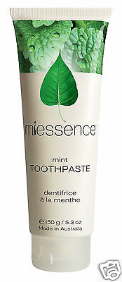 Miessence Mint Toothpaste with cert. organic ingredients (150g)