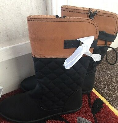 Girls' knee high boots By MATALAN RETAIL LTD Black Available In 3 & 13 Sizes!!
