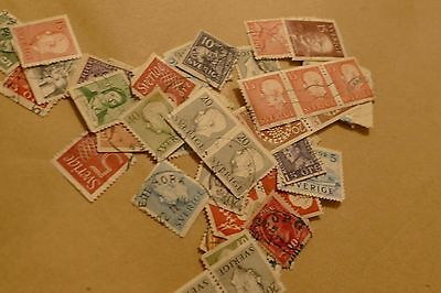 35X used Sweden/ Swedish old postage stamps (used) philately mail