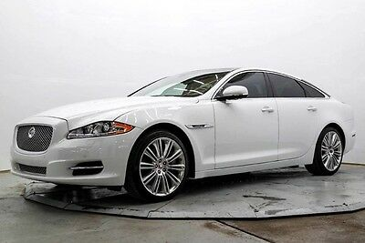 2014 Jaguar XJ Supercharged upercharged Nav Htd & AC Seats Meridian Surround Pwr Sunroof 9K Must See Save