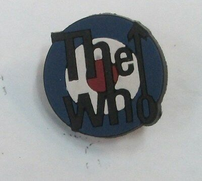 THE WHO DALTRY VINTAGE LAPEL PIN NEW FROM MID 2000's HEAVY METAL MUSIC