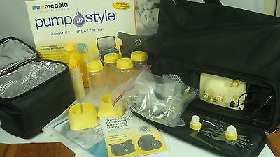 Medela Breast Pump In Style Advanced Tote & Accessories 57026