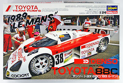 Hasegawa 20235 Denso Toyota 88C ('89) Le Mans 1/24 scale kit