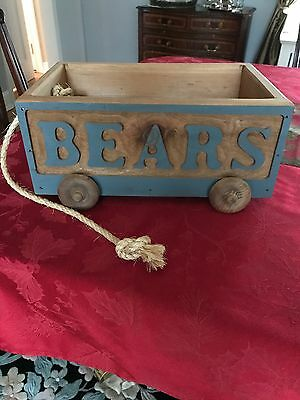 Small Wooden Wagon