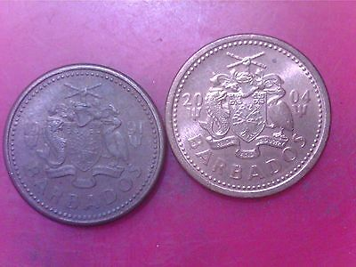 Barbados   One  Cent    1991    2004