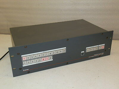 Extron Crosspoint 450 Plus Series Ultra-Wideband Matrix Switcher with ADSP