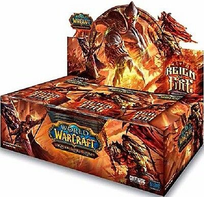 World of Warcraft Reign Of Fire Booster Box Trading Card Game NEW