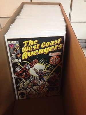 West Coast Avengers 1-102 Ann 1-8 Mini 1-4 Near Mint Lot Set Run Missing # 17 25