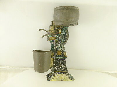 Vintage 1908 De Laval Bream Separator Advertising Tin Wall Mounted Match Holder