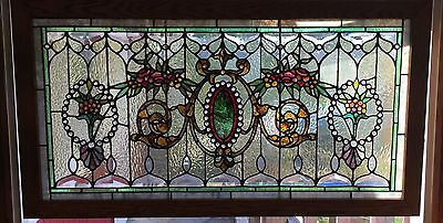 Wonderful 3rd street  jeweled stained glass window