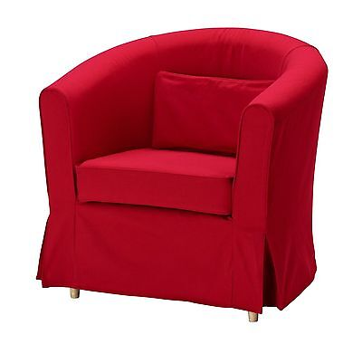 IKEA Ektorp Tullsta Chair Slipcover in Idemo Red - New and Factory Sealed