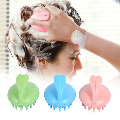 Head Shampoo Scalp Massager Massage Tool Stress Release Healthy Hair Care Kit HJ