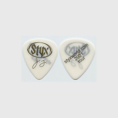 Styx James Young authentic 2001 tour Guitar Pick