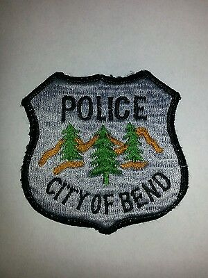 City of Bend Oregon Police Sheriff Patch RARE OLD