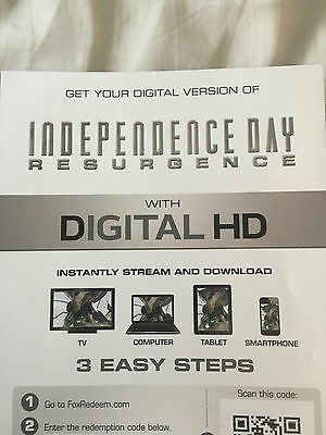 Independence Day Resurgence Digital Download Code