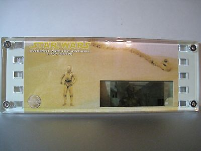 STAR WARS Authentic 70mm Film Cell-C-3PO EDITION